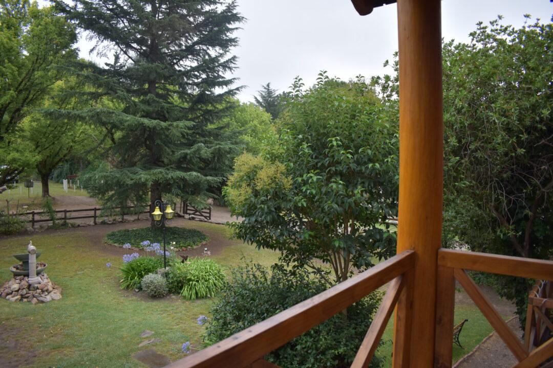 Balcón Vista al jardin