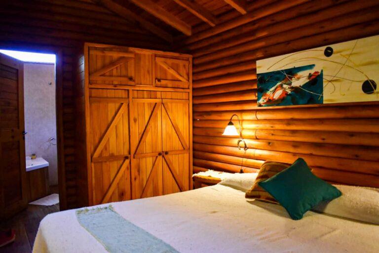 Interior Cabaña Naposta